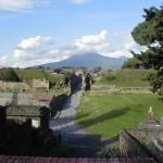 Percorsi pedonali a Pompei