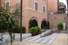 Intervention in a historical building in Rome, Borgo Pio