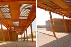New bathing facilities in Ostia Lido